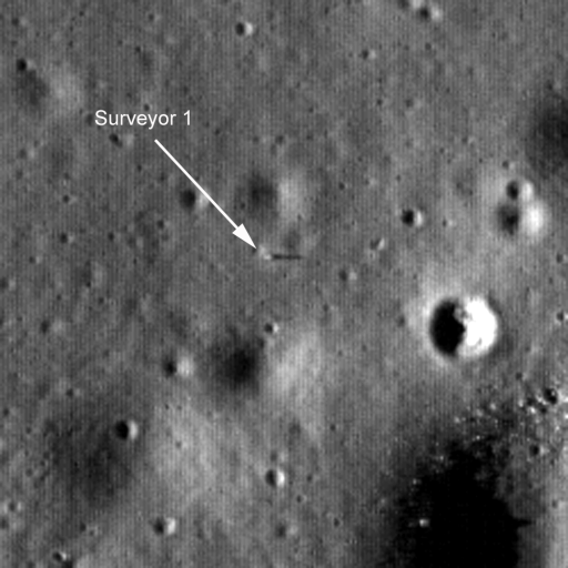Surveyor 1 found!