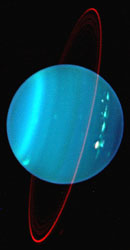 Uranus in the infrared