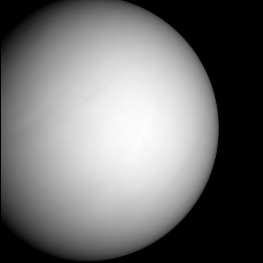 Venus in MESSENGER's forward view