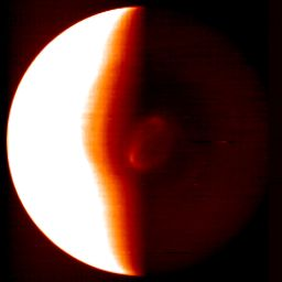 Venus' south pole