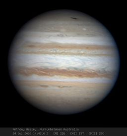 Jupiter by Anthony Wesley, July 24, 2009