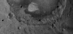 White Rock from Mariner 9