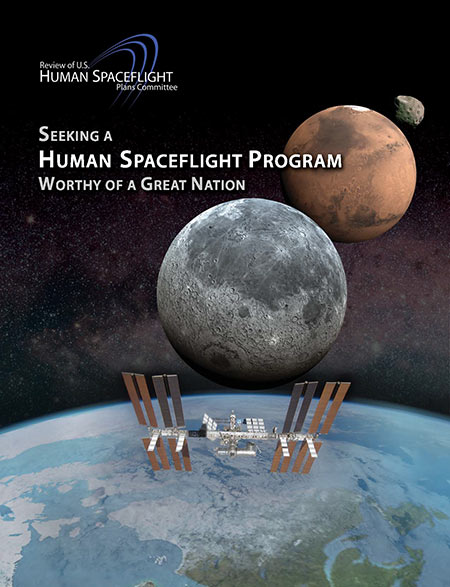 Seeking a Human Spaceflight Program cover