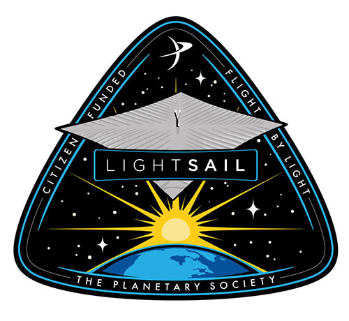 LightSail mission patch
