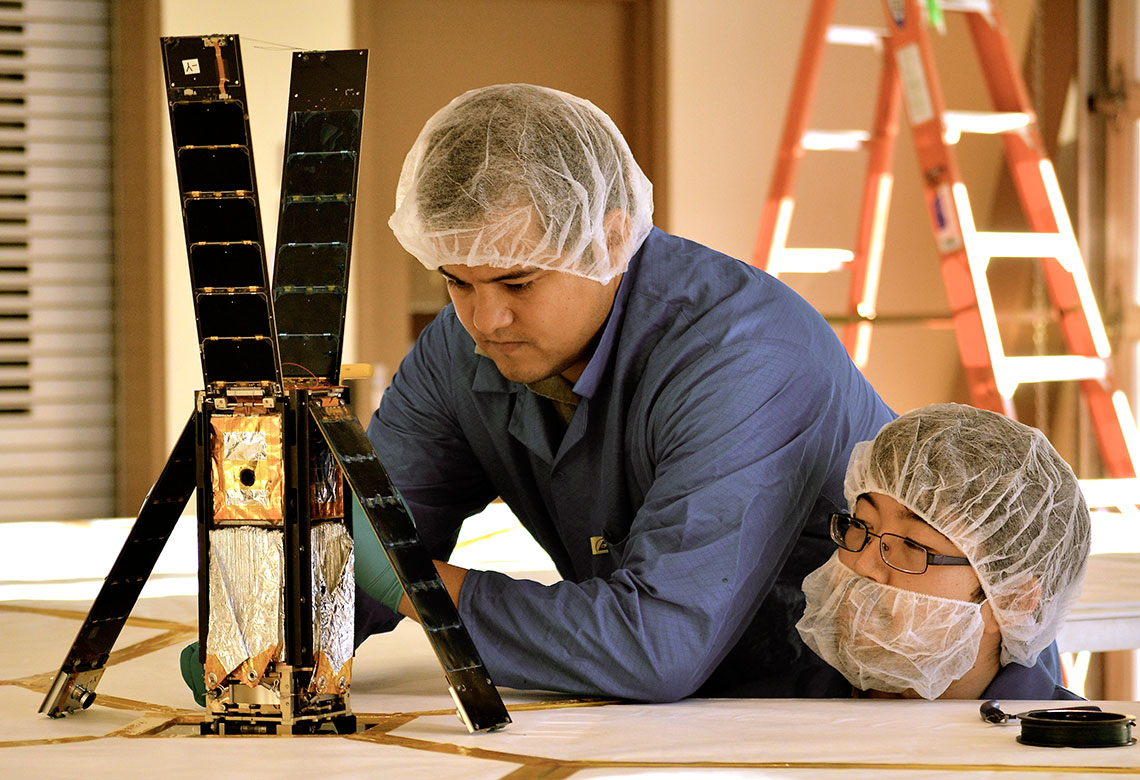 LightSail and engineering team members