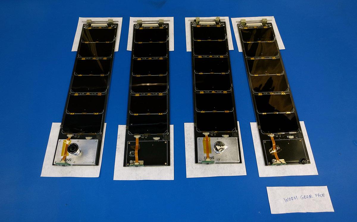 LightSail's solar panels