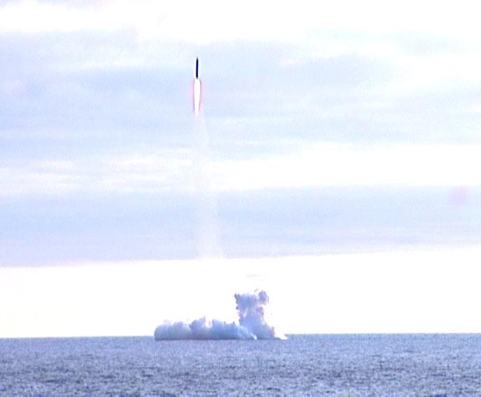 Volna rocket carrying Cosmos 1