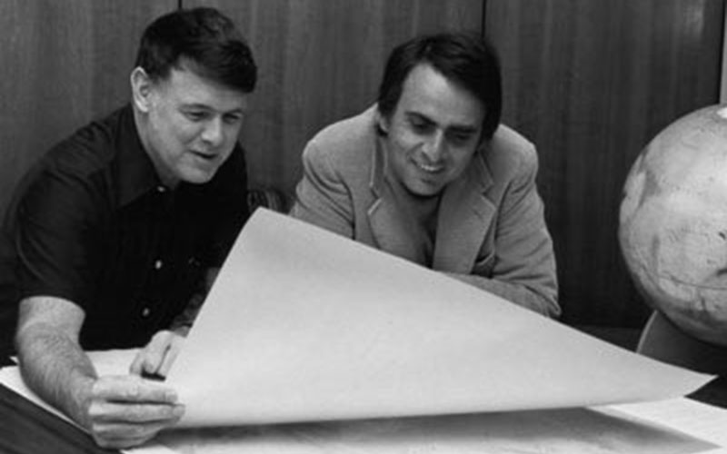 Bruce Murray and Carl Sagan