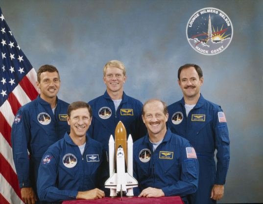 The crew of STS-26