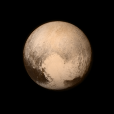 New Horizons' best look at Pluto before close approach
