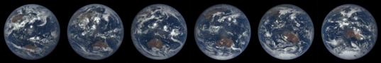 Shifting seasons viewed from DSCOVR