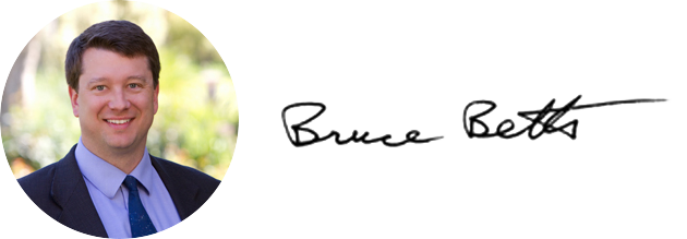 Bruce Betts signature