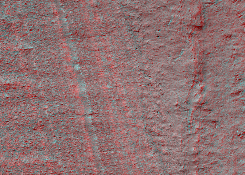 Faults in south polar layered deposits in Promethei Lingula region