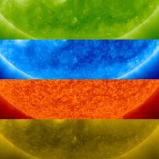 Mercury transiting the Sun in multiple wavelengths