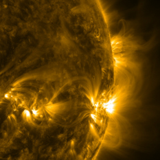 Sun Storms in Extreme Ultraviolet