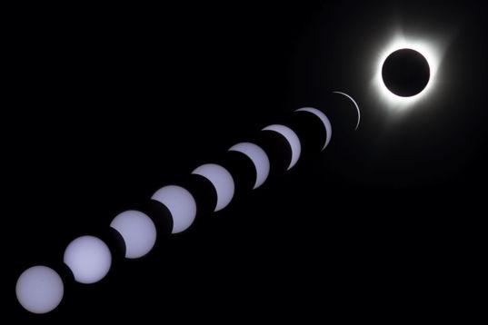 Total Solar Eclipse Montage