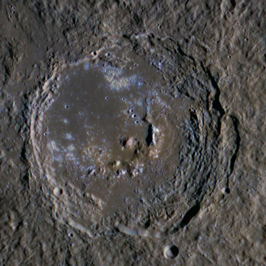 MESSENGER view of the crater Zeami