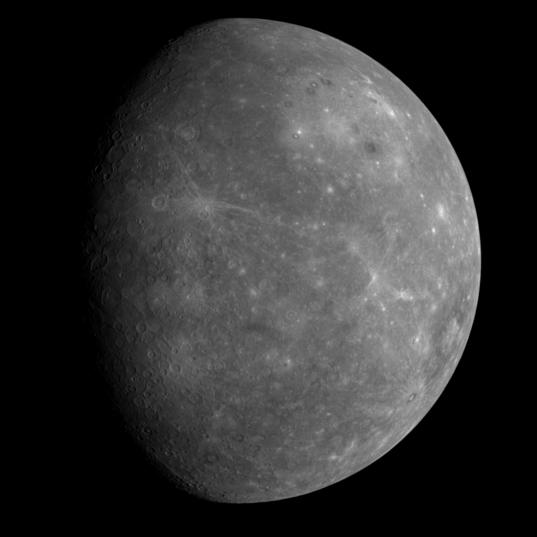 Mercury's unseen side