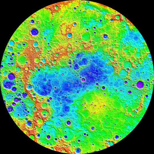 Mercury's north polar topography from MESSENGER