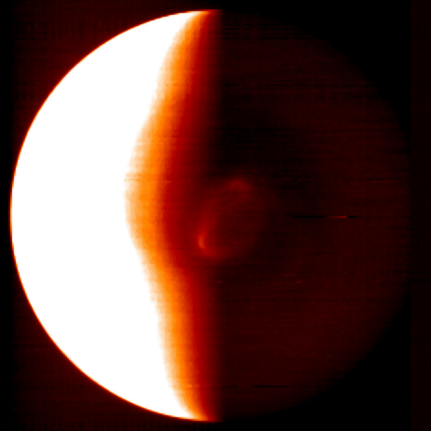 Venus' south pole