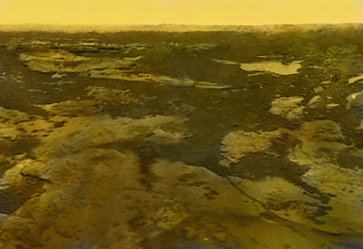 Standing on Venus with Venera 10 (colorized)