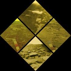 Venera lander views of Venus
