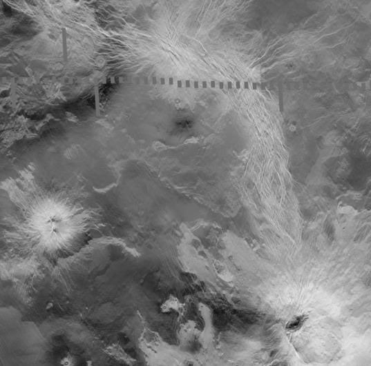 Ganis chasmata, Venus: Site of active volcanism?