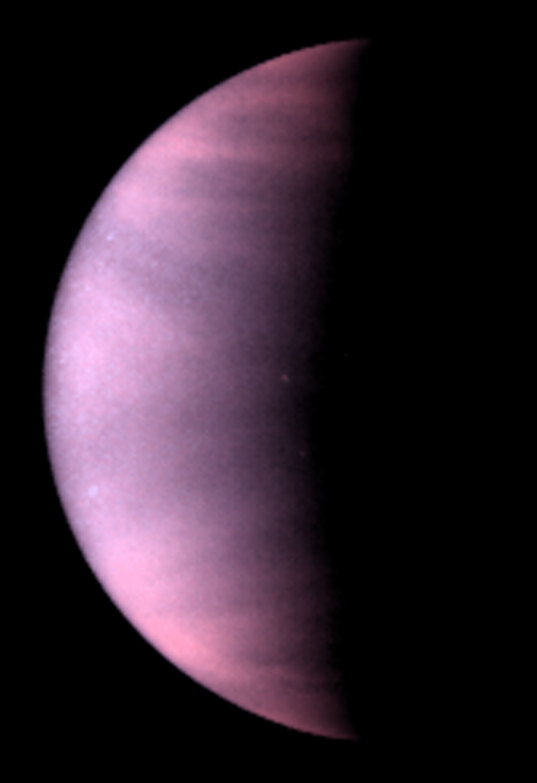 Hubble views Venus
