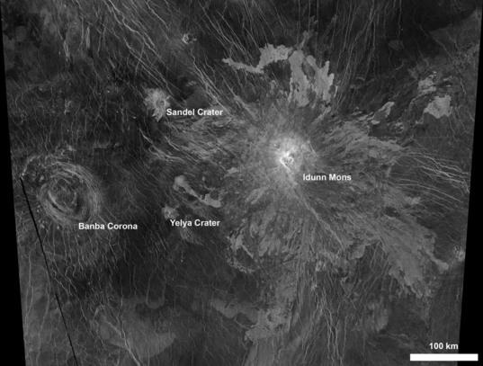 Idunn Mons, Venus