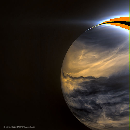 Venus in infrared from Akatsuki