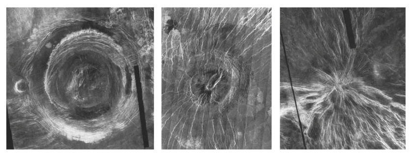 Venus surface feature comparisons