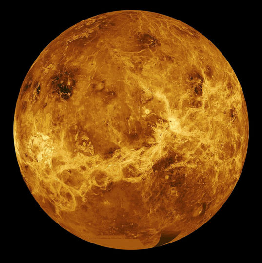 Global view of Venus from Magellan