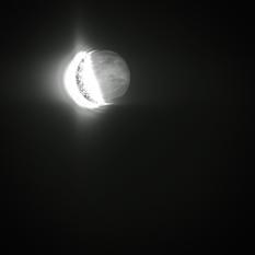 Earth, Moon, and Venus from Akatsuki