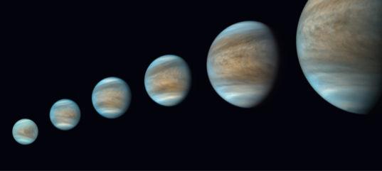 Akatsuki Views Venus