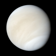 Global view of Venus from Mariner 10