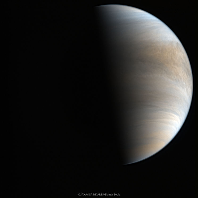Venus from Akatsuki on 26 May 2017