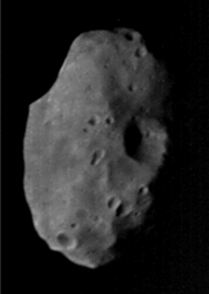 Phobos from Mariner 9