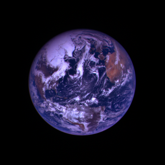 Earth from Hayabusa