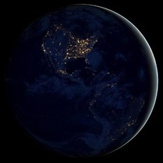 2012 Night Image of Earth