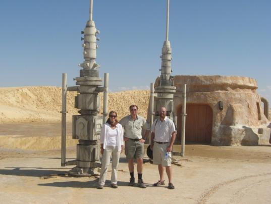 Mos Espa site in Tunisia in 2009