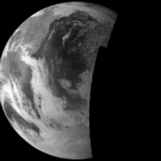 Views of Earth from Juno