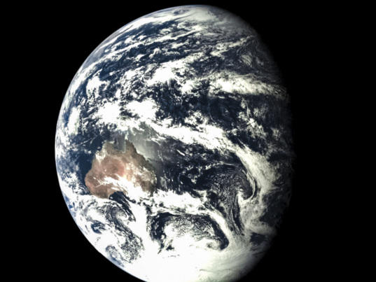 Earth from Chang'e 5 T1