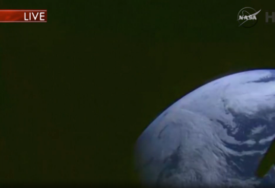 Earth from Orion