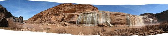 Grand Falls panorama