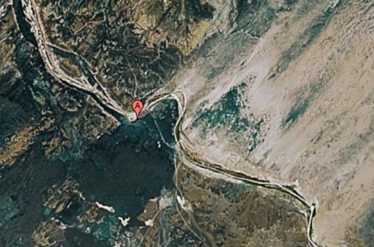 Grand Falls aerial view