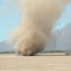 Arizona dust devil