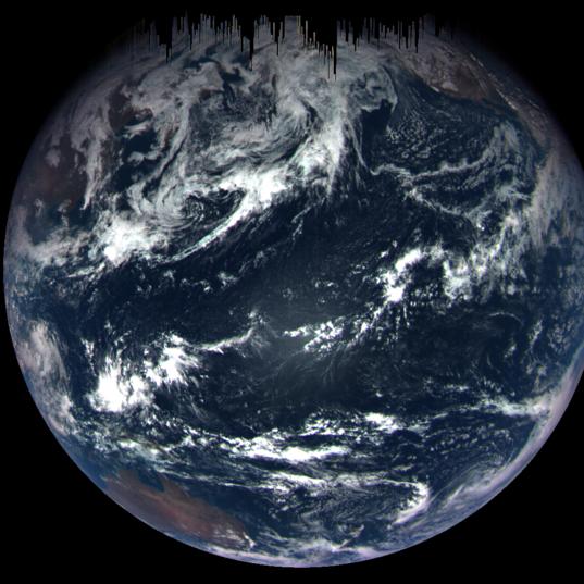 Ocean world from OSIRIS-REx MapCam