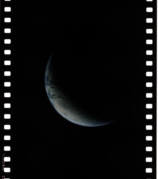 Earth from Apollo 4