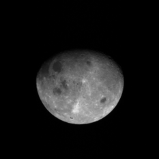 OSIRIS-REx PolyCam view of the Moon, 3 days after flyby