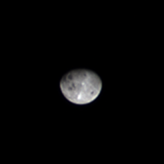 OSIRIS-REx MapCam view of the Moon, 3 days after flyby